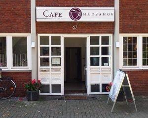 Café Hansahof - Aegidiistraße Münster