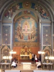 Altarraum von St. Aegidii