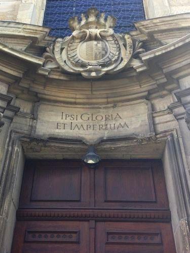 Eingang zu St. Aegidii