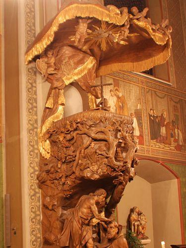 Kanzel in St. Aegidii