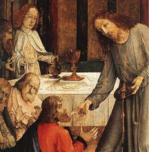 Mundkommunion - Eucharistie - Gottesdienst