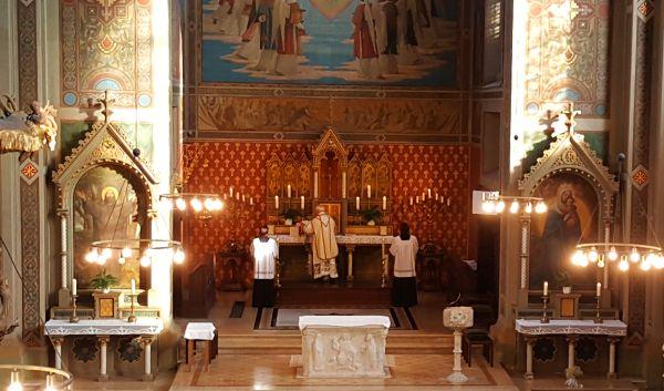 Gebetsrichtung nach Osten (ad orientem)