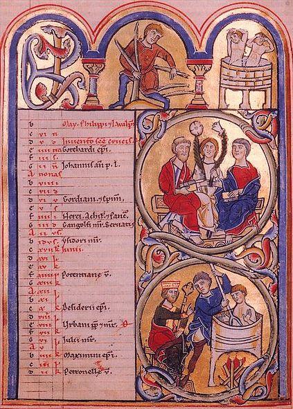 Liturgischer Kalender / Heiligenkalender